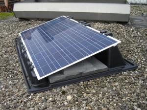 Photovoltaikanlage Steinplatte Befestigung Wanne